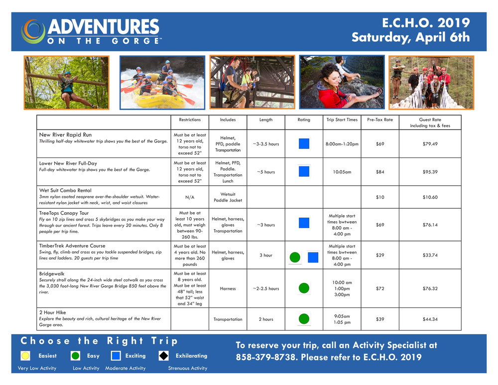 CampECHOSaturdayexcursions