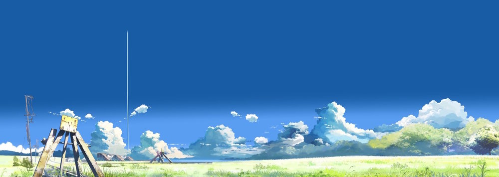 from Makoto Shinkai's  The Place Promised In Our Early Days