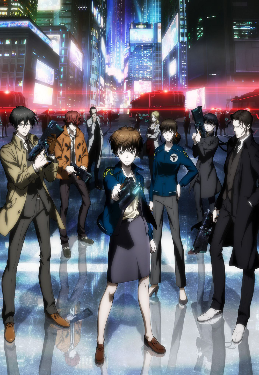 Psycho Pass  and  Psycho Pass 2  Production I.G.