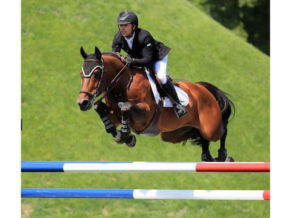 Kent Farrington and Jasper