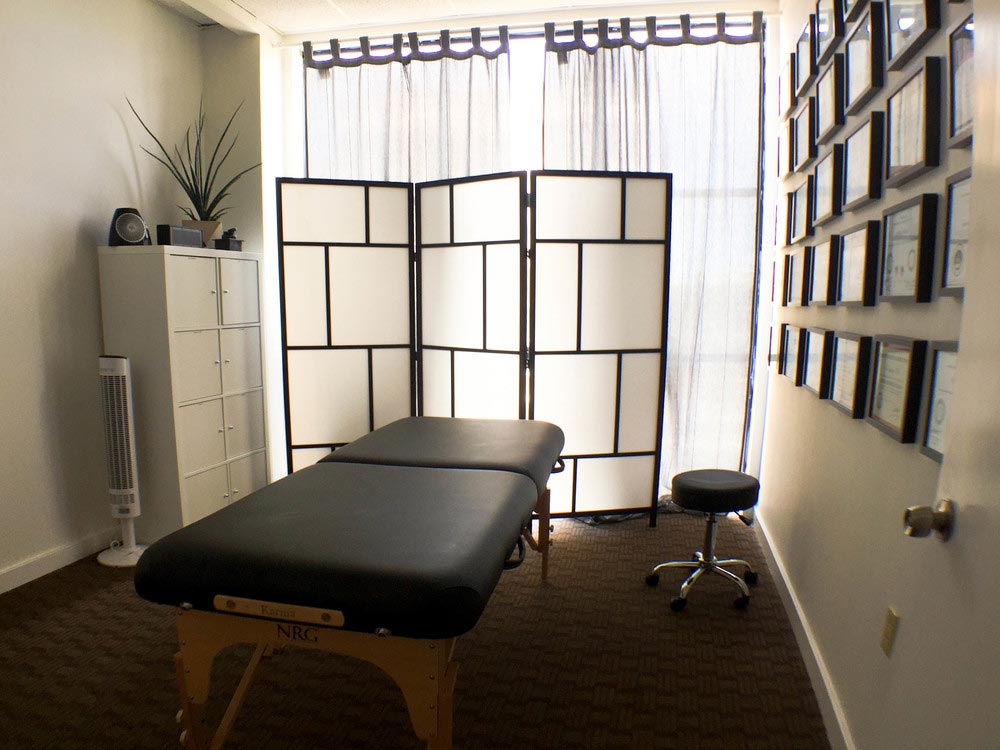 Treatment Room at Perform For Life