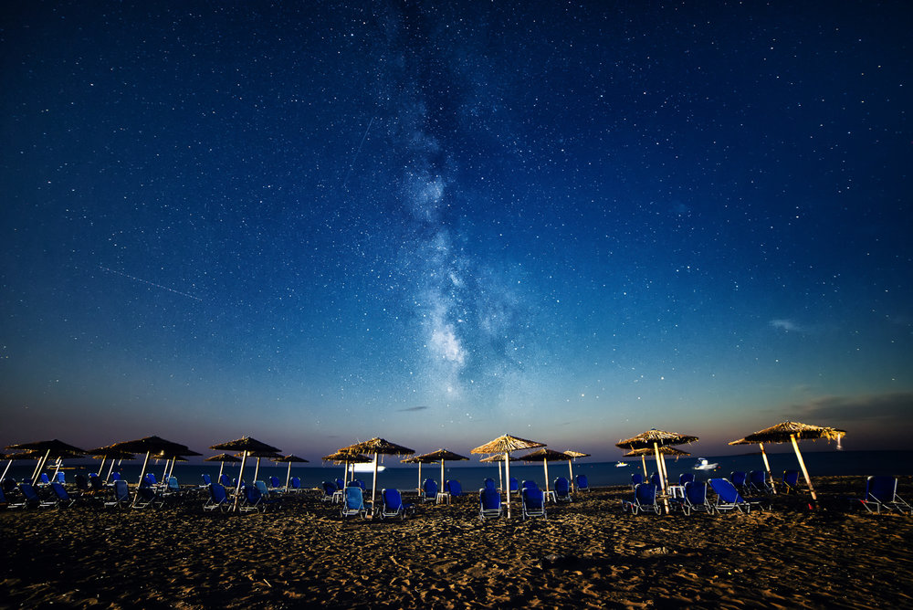 I shot this milky way photograph from the south coast of Corfu, away from city lights using only the techniques I describe in this guide.