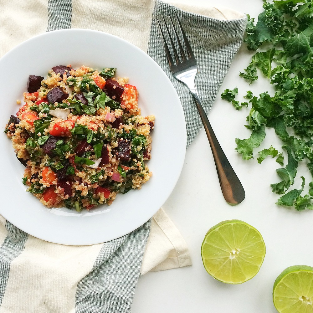 Quinoa Salad with Roasted Beet and Carrot — Whole Living Lauren