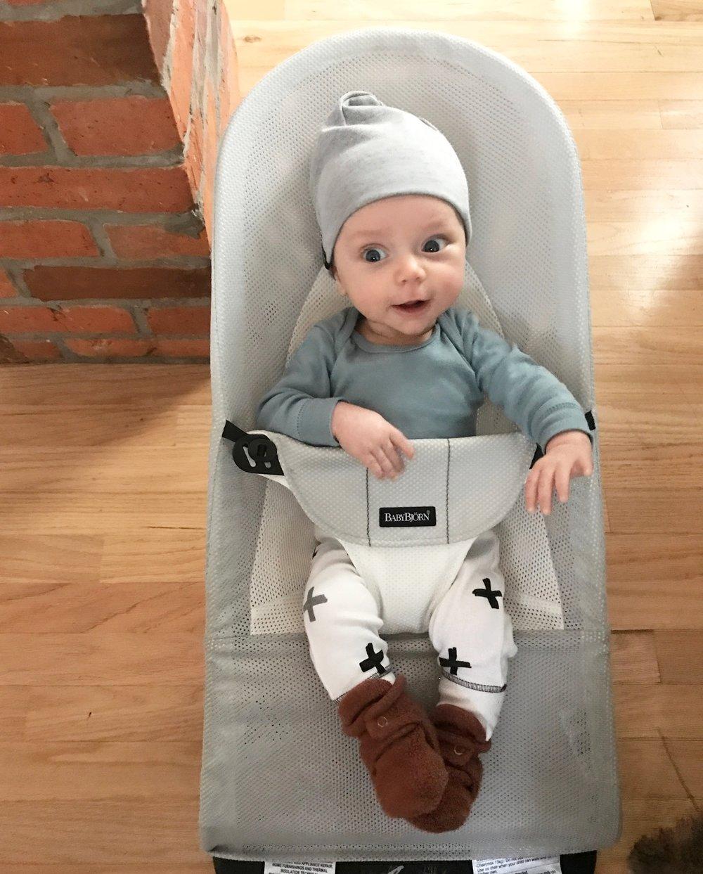 Rhys, 3 months old