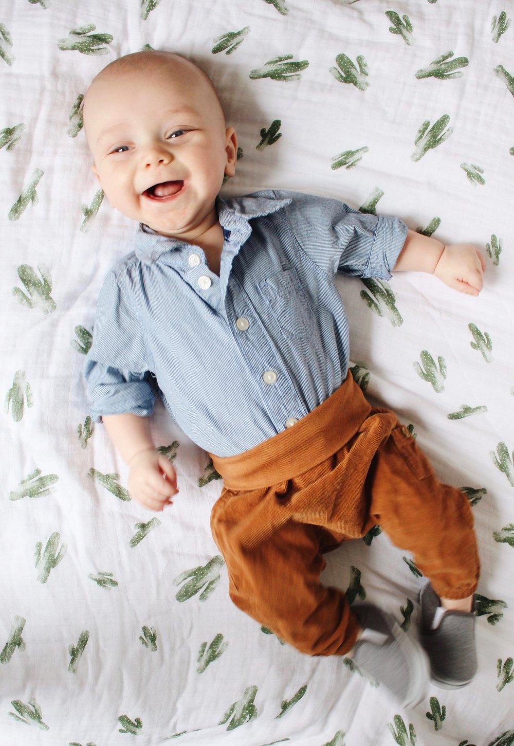 Rhys, 4 months