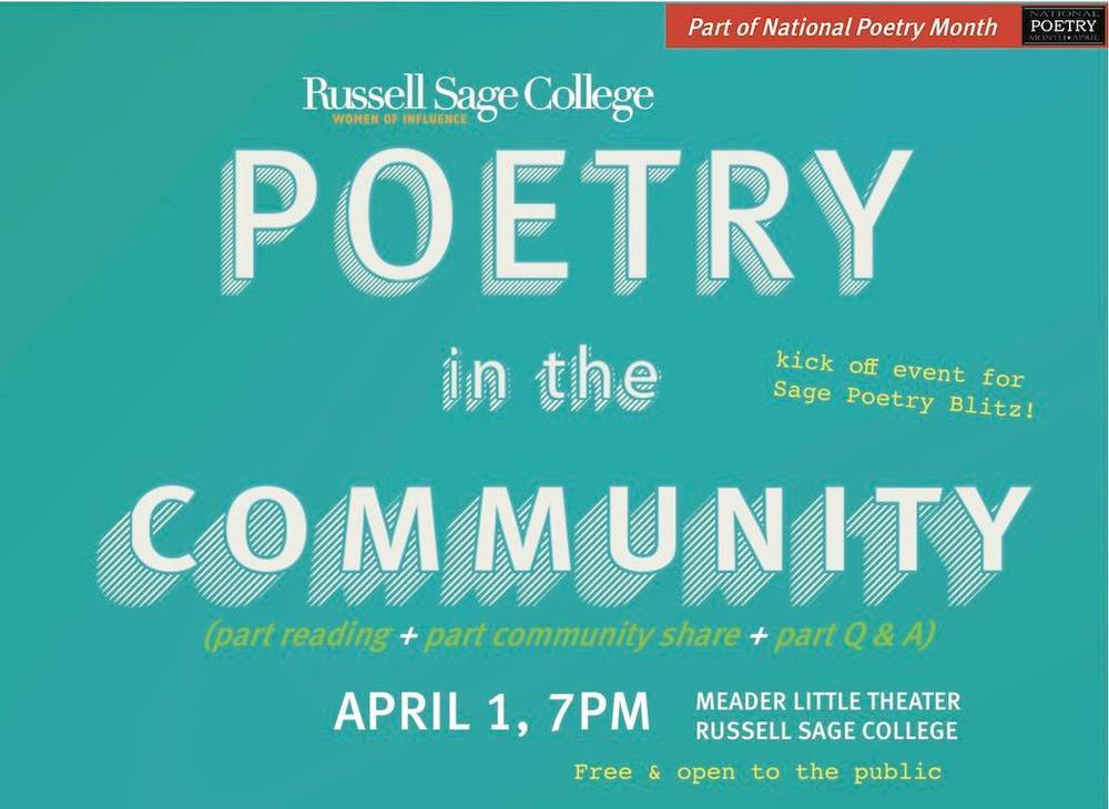Poetry in the Community