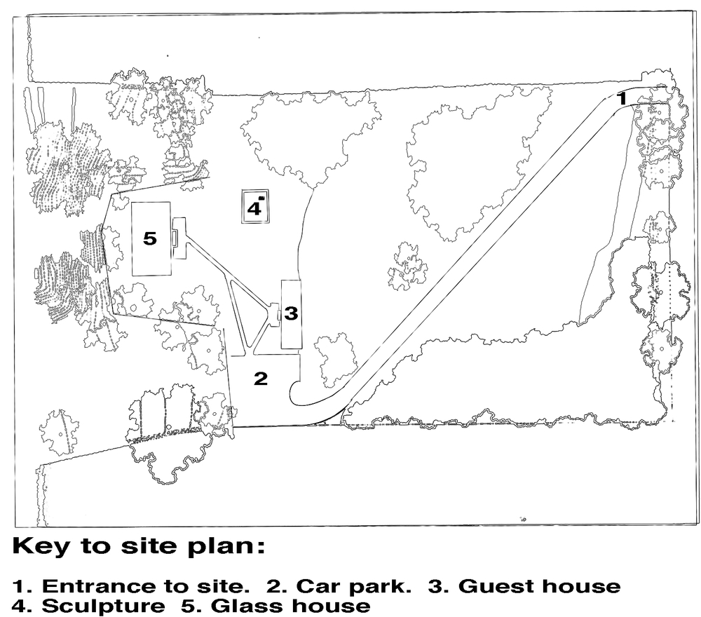Glass House Philip Johnson Plan of mies der rohe belflower