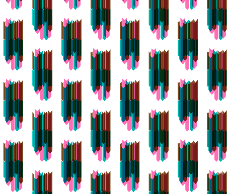 arrow stripes collage by pencilmein on spoon flower