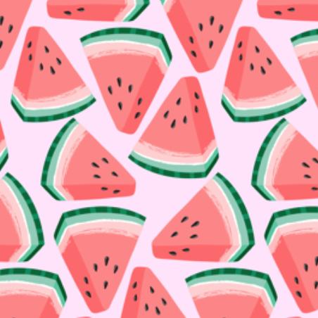watermelon by kristinnohe on Spoonflower