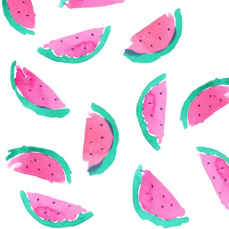 watermelon 2 by erinanne on spoonflower