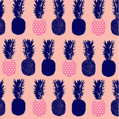 pineapple b by veemichelle on spoonflower