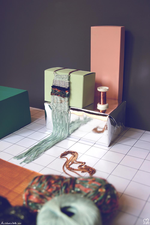 {DIY : collier boho mini tissage} | The Creative Contente blog DIY, fashion & magic