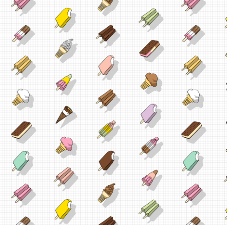 Lollies  by: pennycandy on spoonflower