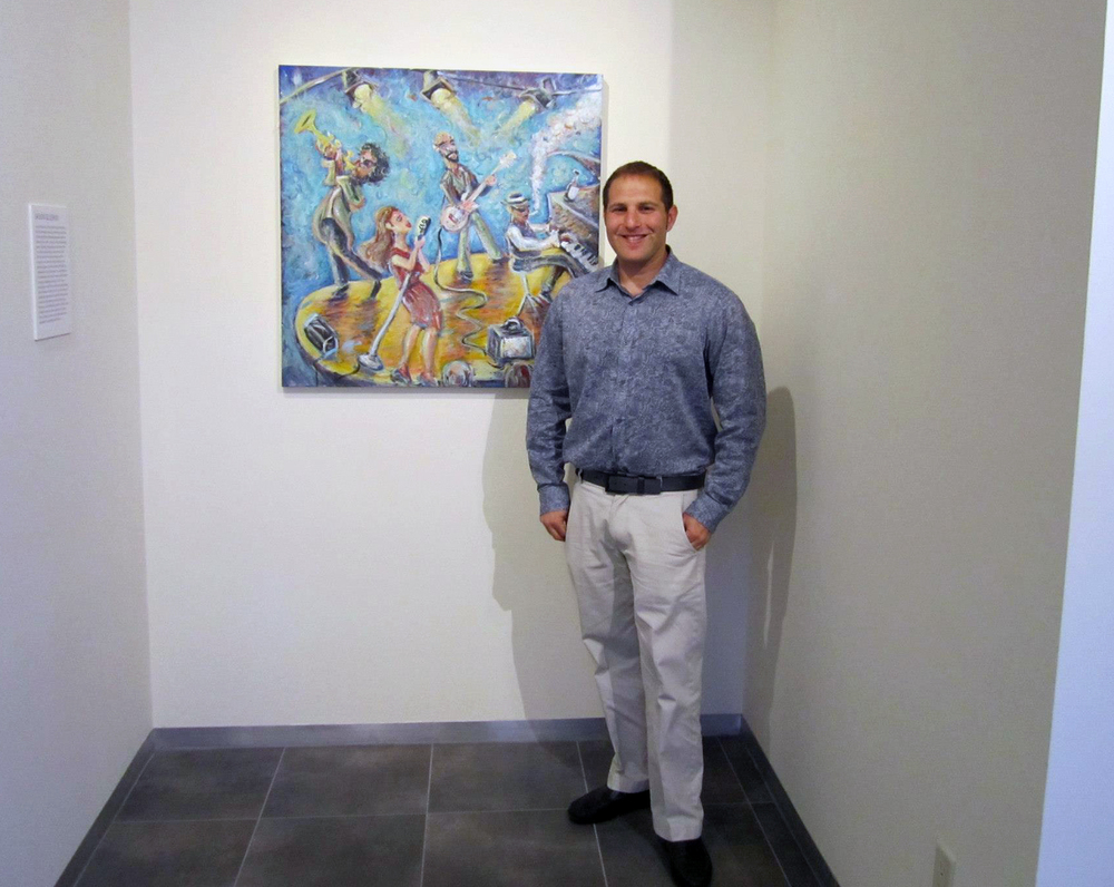 Jason at Adelson Gallery, Boston MA - July 2013