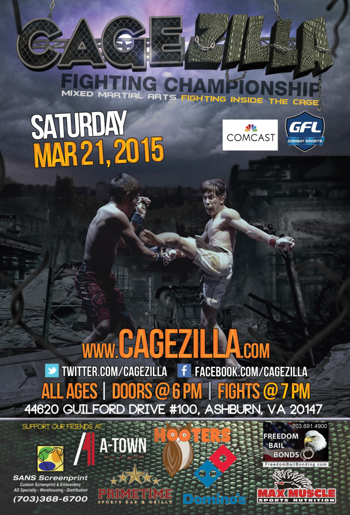 OO Fights 34 Postponed to March In Light of New 'Cagezilla' Project