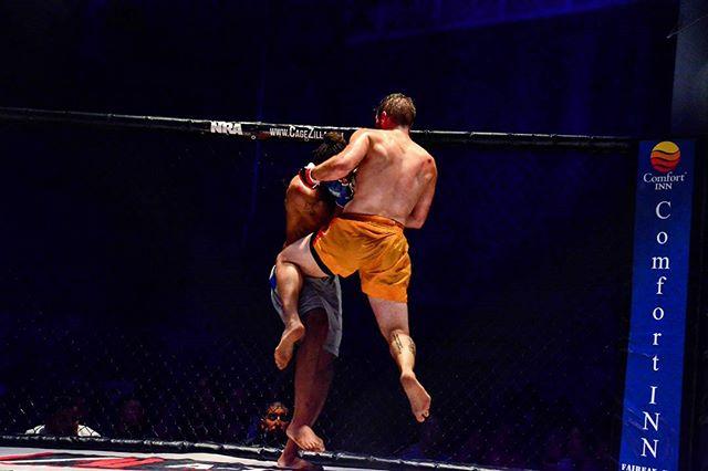 7/23/2016 Cagezilla 41 - Matt Doerflinger vs. Allen Hargrove #MMAinVA #Cagezilla