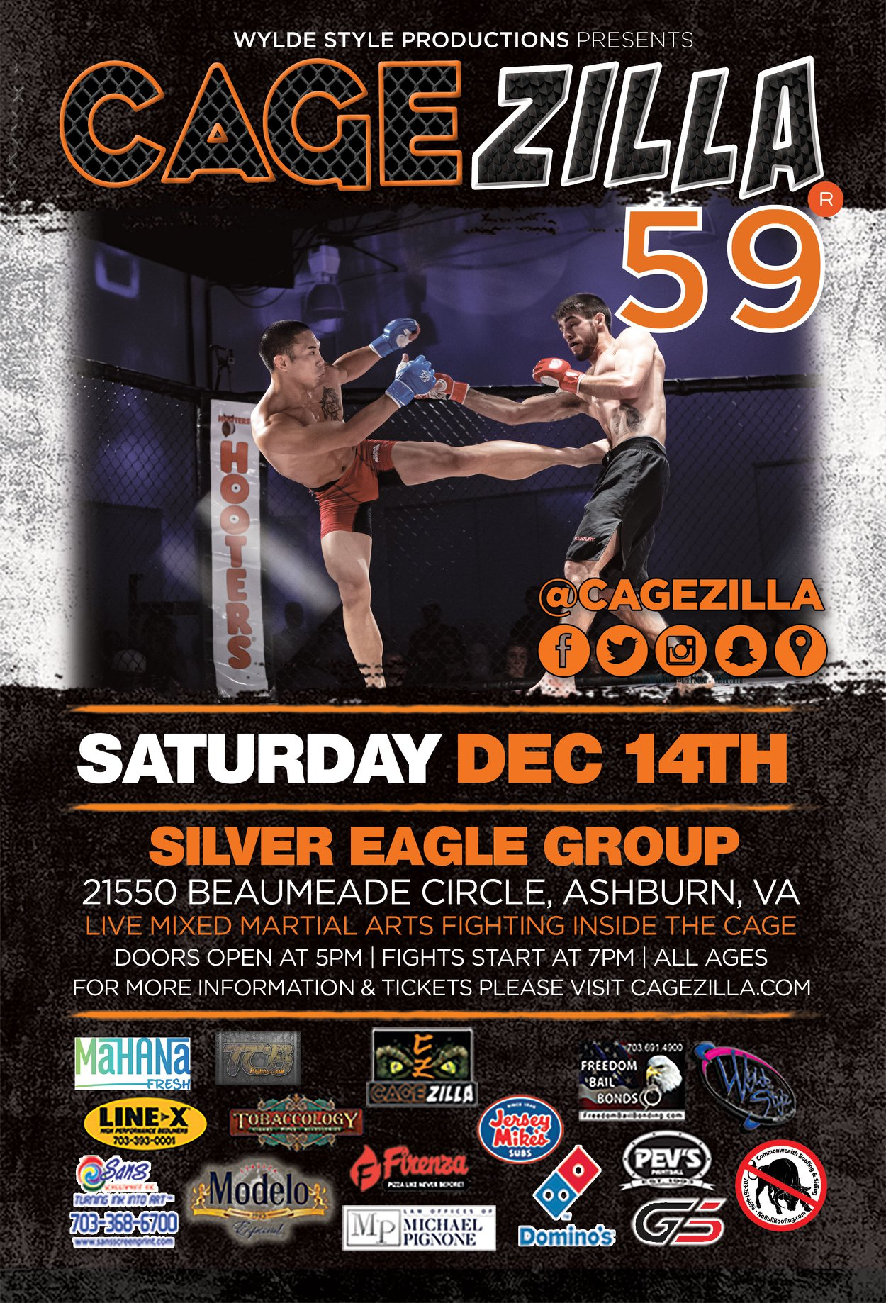 Events — MMA in VA