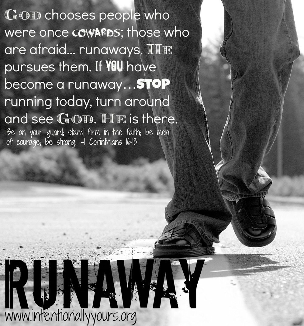 how to stop someone from running away