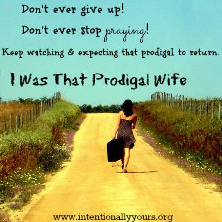 Prayer for prodigal husband