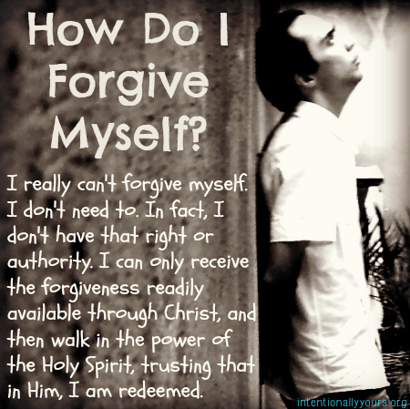 Can i forgive myself