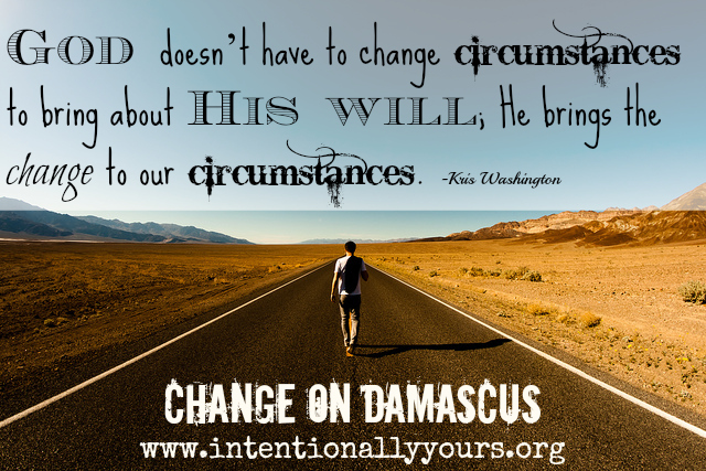 Change On Damascus
