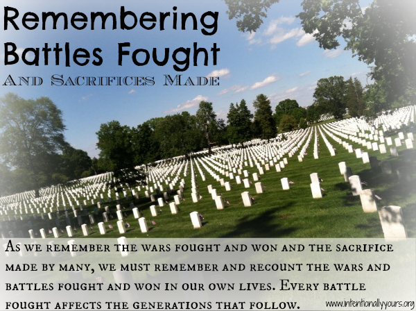 Remembering Battles Fought