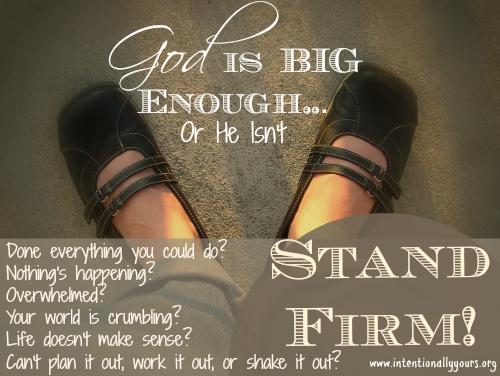 god is big enough