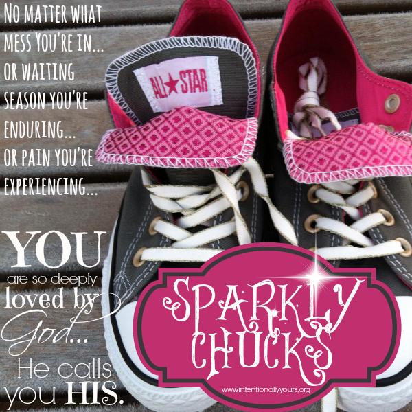 sparkly chucks