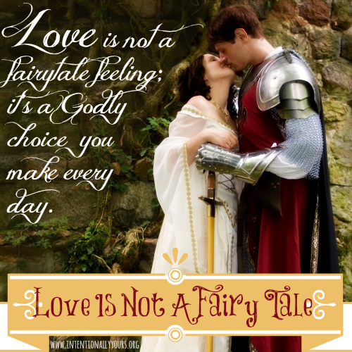 Love is not a fairy tale