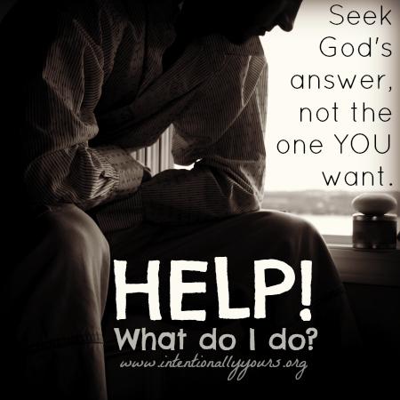 Help! What do I do