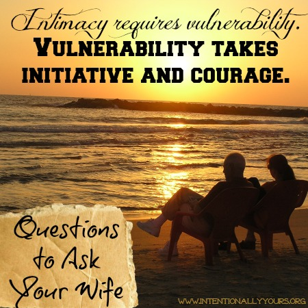 questions to ask your wife
