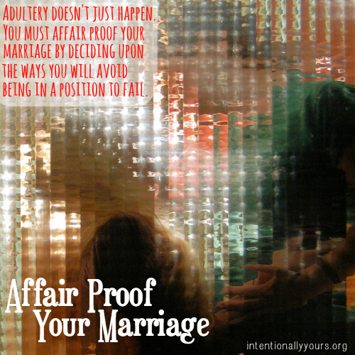 Affair - Proof Your Marriage?