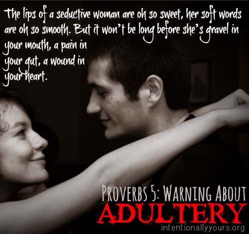 warning about adultery