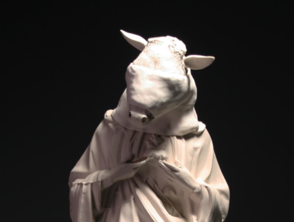 Deer Head Saint (detail) 2012