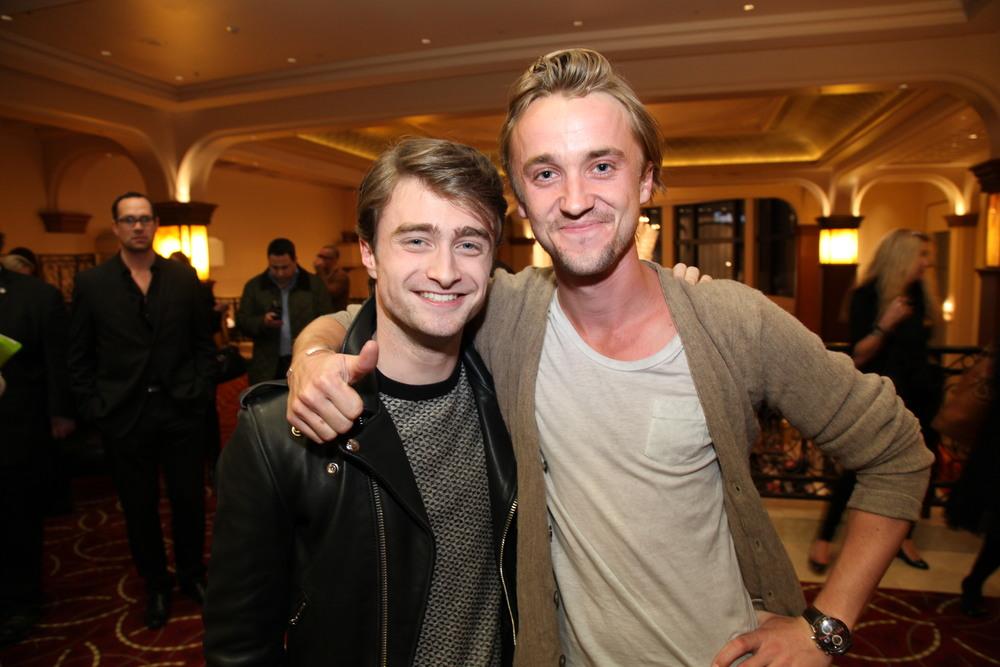 Daniel Radcliffe, Tom Felton - 2012