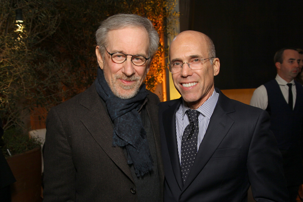 Steven Spielberg, Jeffrey Katzenberg - 2014