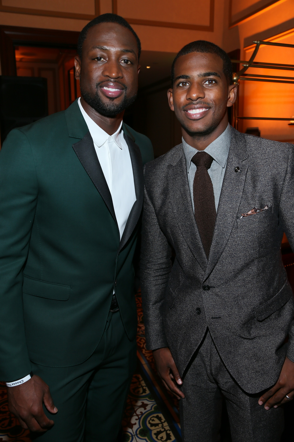 Dwayne Wade, Chris Paul