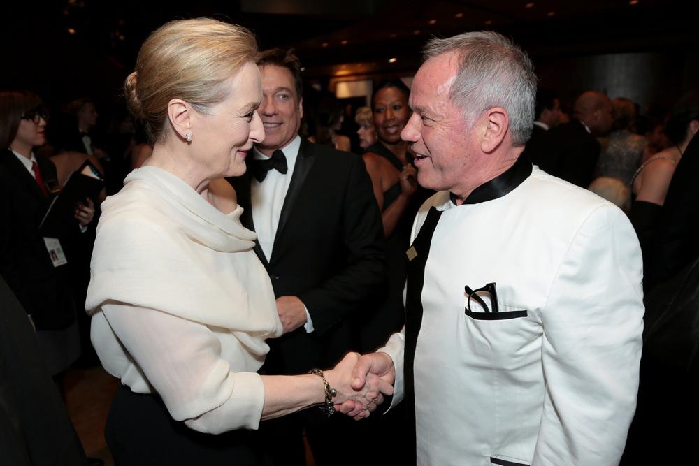 Meryll Streep, Wolfgang Puck - Academy Awards