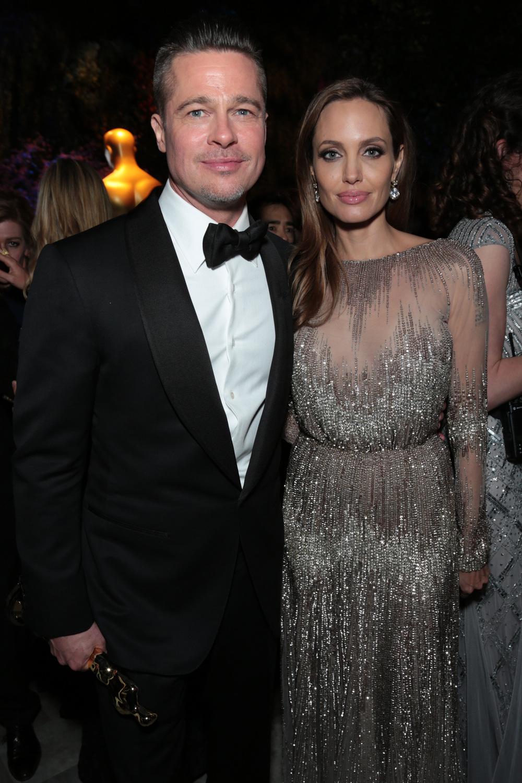 Brad Pitt, Angelina Jolie - Academy Awards