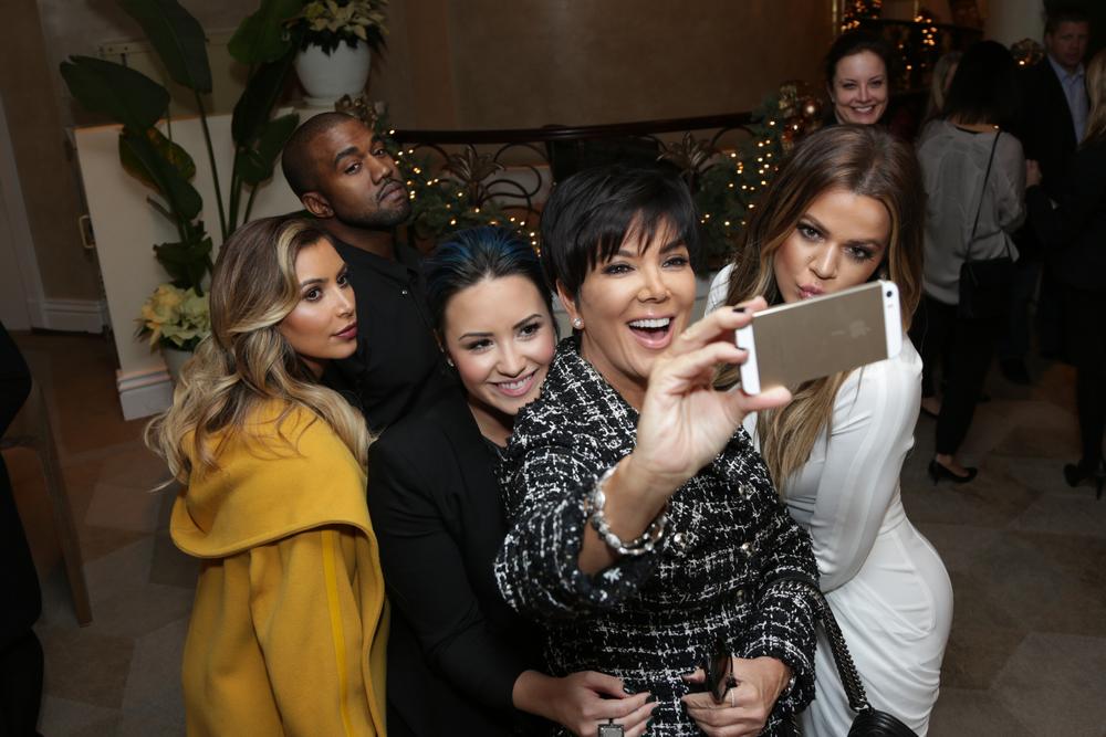 kim kardashian, kanye west, demi lovato, kris jenner, khloe kardashian