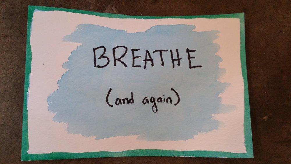 Breath (and again).