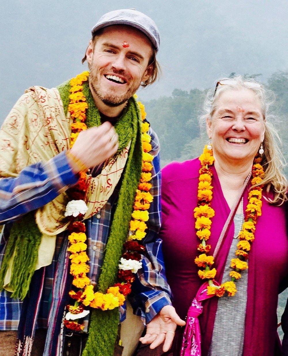 Happy sangha welcome to anand lok.jpg