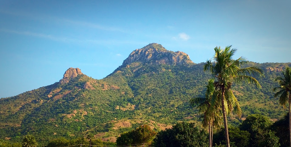 Holy Arunachala in Tiruvannamalai, South India