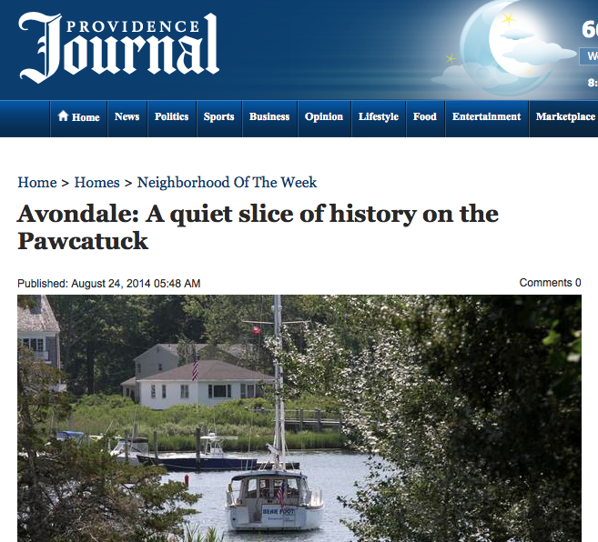 Providence Journal - August 2014