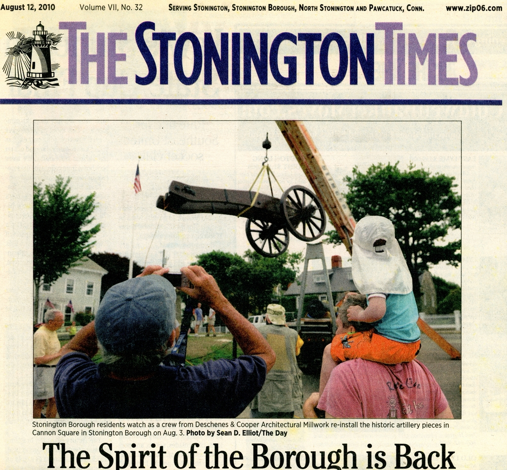 The Stonington Times - August 2010