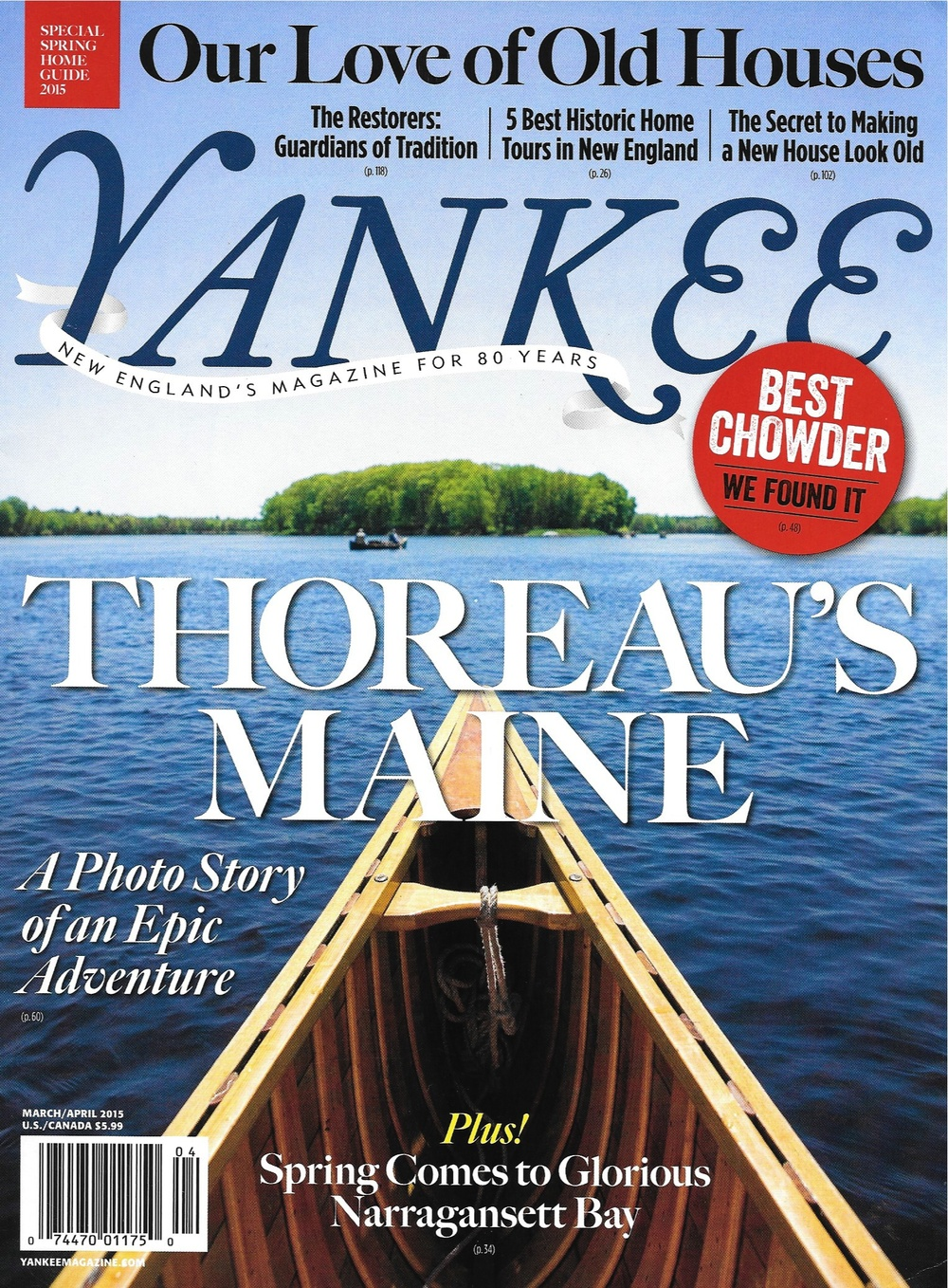 Yankee Magazine - March/April 2015