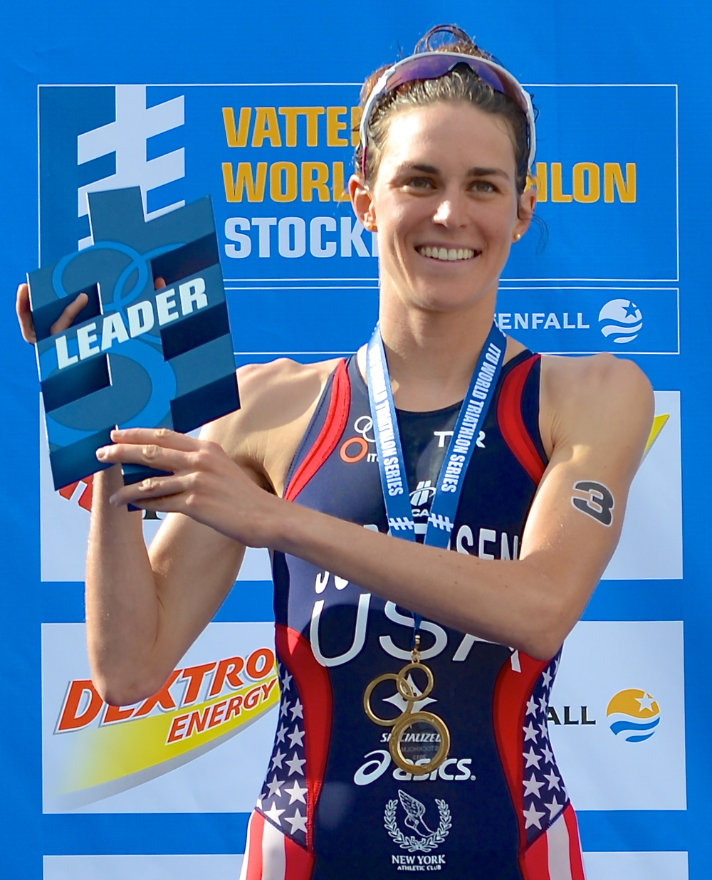 Gwen Jorgensen is a professional triathlete from St Paul, MN. Gwen is a 2012 Olympian and 7x ITU World Triathlon Series race winner. She also likes to read, try new foods, and hang out with friends and family. Feel free to add Gwen on any of the social sites below!