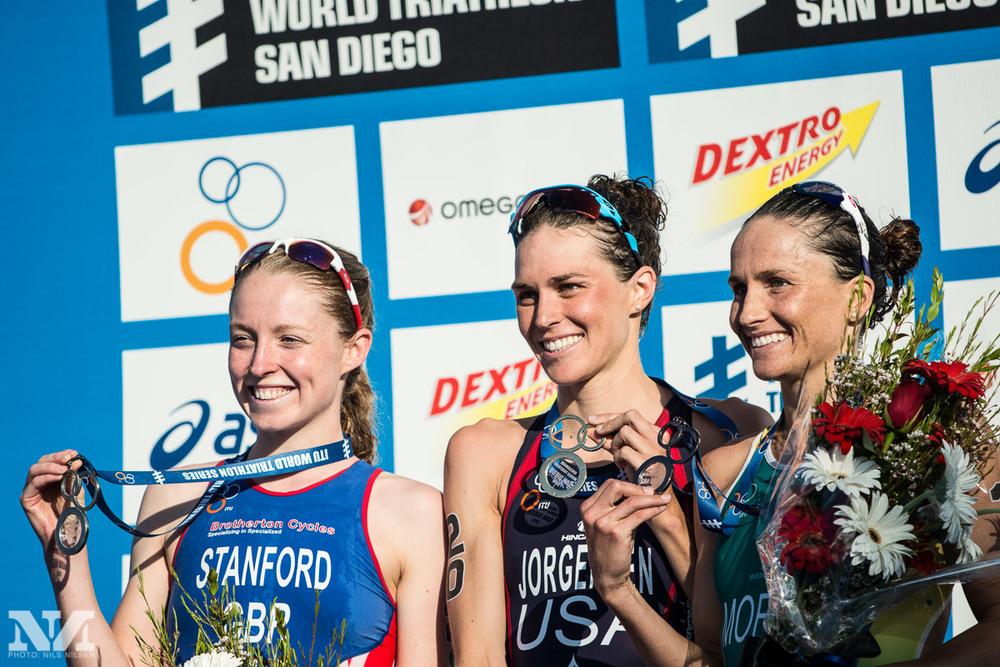 2013 San Diego WTS Podium