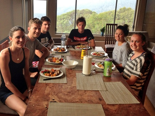 Falls Creek 'family dinner'