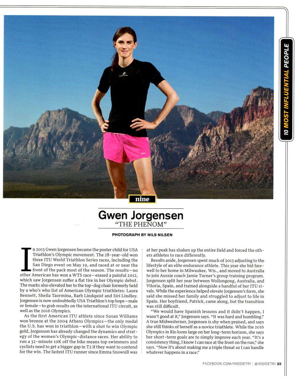 G.Jorgensen Inside Tri Dec 2013 10 Most Influential Page 2.jpg